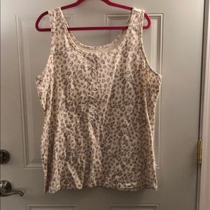 Maurices Tops - Maurice's leopard tank. Like new.